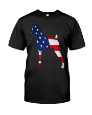 Patriotic Boxer Classic T-Shirt thumbnail