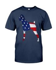 Patriotic Boxer Classic T-Shirt front