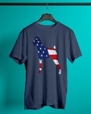 Patriotic Boxer Classic T-Shirt lifestyle-mens-crewneck-front-3