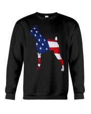 Patriotic Boxer Crewneck Sweatshirt thumbnail