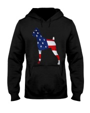 Patriotic Boxer Hooded Sweatshirt tile