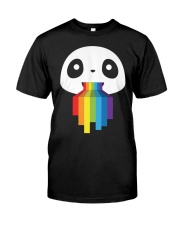 Panda LGBT Pride 1 Classic T-Shirt thumbnail