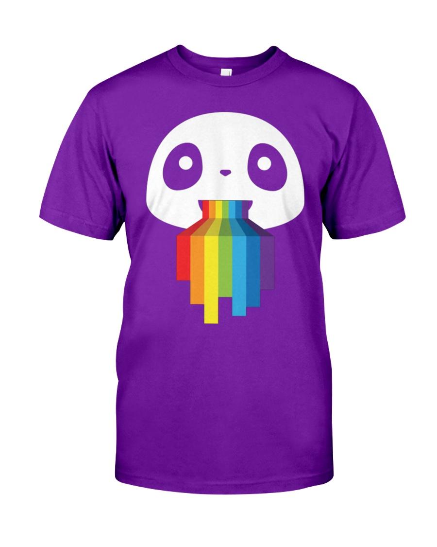 Panda LGBT Pride 1 Classic T-Shirt