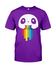 Panda LGBT Pride 1 Classic T-Shirt front