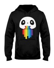 Panda LGBT Pride 1 Hooded Sweatshirt thumbnail