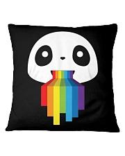 Panda LGBT Pride 1 Square Pillowcase thumbnail
