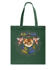 Cats With Angel Shirt Crown Vintage Style  Tote Bag thumbnail