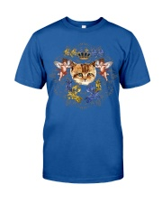 Cats With Angel Shirt Crown Vintage Style  Classic T-Shirt front