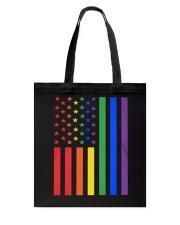 LGBT Rainbow LGBT Pride Gay Lesbian Bi T Tote Bag thumbnail