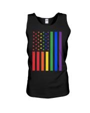 LGBT Rainbow LGBT Pride Gay Lesbian Bi T Unisex Tank thumbnail