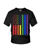 LGBT Rainbow LGBT Pride Gay Lesbian Bi T Youth T-Shirt thumbnail