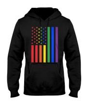 LGBT Rainbow LGBT Pride Gay Lesbian Bi T Hooded Sweatshirt thumbnail
