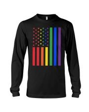 LGBT Rainbow LGBT Pride Gay Lesbian Bi T Long Sleeve Tee thumbnail