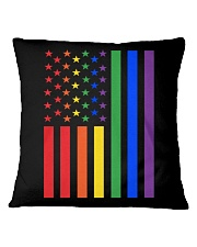 LGBT Rainbow LGBT Pride Gay Lesbian Bi T Square Pillowcase thumbnail