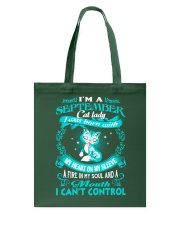 I Am A September Cat Lady Cat    Tote Bag thumbnail