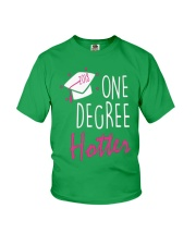 ONE DEGREE HOTTER 2018 GRADUATION DAY Youth T-Shirt front