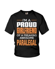 PROUD GIRLFRIEND - PARALEGAL Youth T-Shirt thumbnail