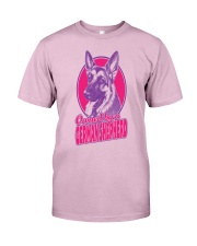 Owned By A German Shepherd Classic T-Shirt front