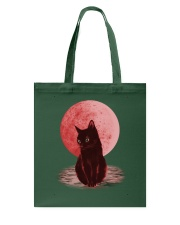Cat Moon T shirt Tote Bag tile
