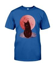 Cat Moon T shirt Classic T-Shirt front