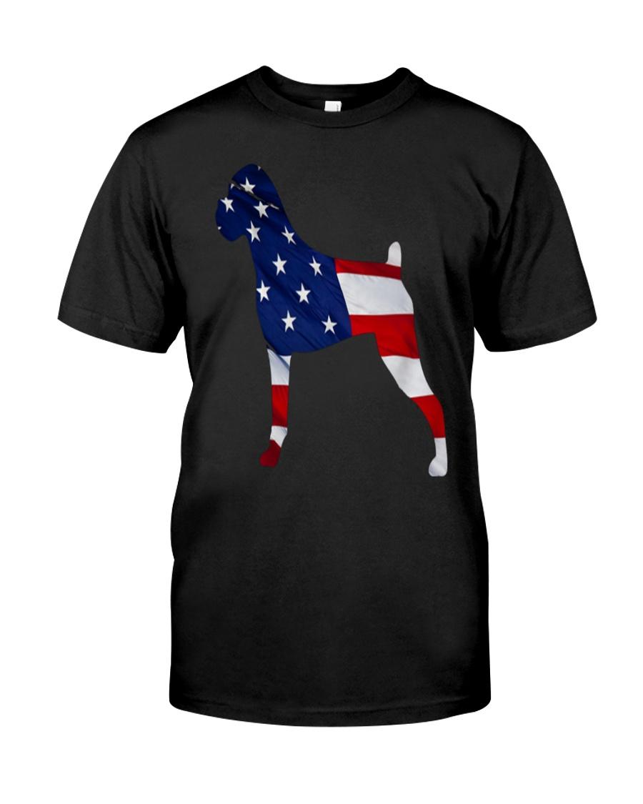 Patriotic Boxer Tank Top Classic T-Shirt showcase