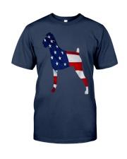 Patriotic Boxer Tank Top Classic T-Shirt front
