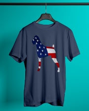 Patriotic Boxer Tank Top Classic T-Shirt lifestyle-mens-crewneck-front-3