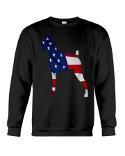 Patriotic Boxer Tank Top Crewneck Sweatshirt tile