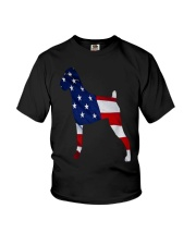 Patriotic Boxer Tank Top Youth T-Shirt thumbnail