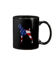 Patriotic Boxer Tank Top Mug tile