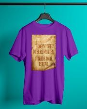 PATRIOTIC - Reread v2 M 0018 Classic T-Shirt lifestyle-mens-crewneck-front-3