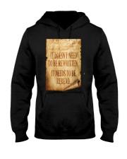 PATRIOTIC - Reread v2 M 0018 Hooded Sweatshirt thumbnail