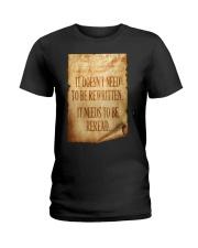 PATRIOTIC - Reread v2 M 0018 Ladies T-Shirt thumbnail