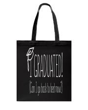 Graduation T-Shirt Tote Bag thumbnail