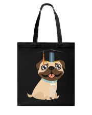 Pug Graduation Cap 1 Tote Bag thumbnail