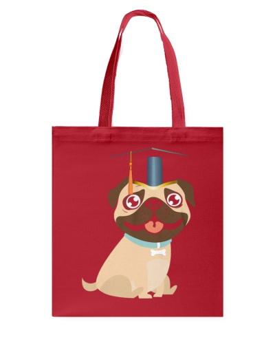 Pug Graduation Cap 1