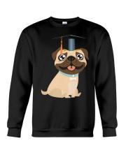 Pug Graduation Cap 1 Crewneck Sweatshirt thumbnail