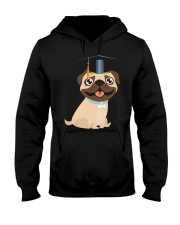 Pug Graduation Cap 1 Hooded Sweatshirt thumbnail