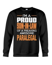PROUD SON-IN-LAW - PARALEGAL Crewneck Sweatshirt thumbnail