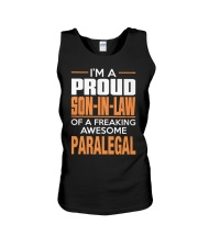 PROUD SON-IN-LAW - PARALEGAL Unisex Tank thumbnail