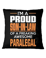 PROUD SON-IN-LAW - PARALEGAL Square Pillowcase thumbnail