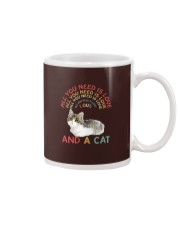 Cat Shirt All you need is love and a cat  Mug thumbnail