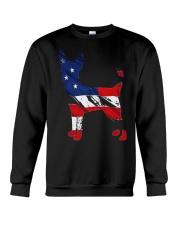 Patriotic Chihuahua Crewneck Sweatshirt thumbnail