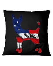 Patriotic Chihuahua Square Pillowcase tile