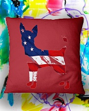 Patriotic Chihuahua Square Pillowcase aos-pillow-square-front-lifestyle-17