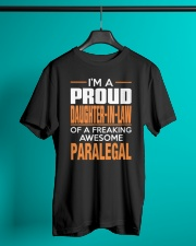 PROUD DAUGHTER-IN-LAW - PARALEGAL Classic T-Shirt lifestyle-mens-crewneck-front-3