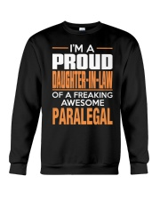 PROUD DAUGHTER-IN-LAW - PARALEGAL Crewneck Sweatshirt thumbnail