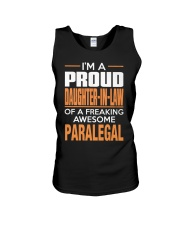 PROUD DAUGHTER-IN-LAW - PARALEGAL Unisex Tank tile