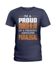 PROUD DAUGHTER-IN-LAW - PARALEGAL Ladies T-Shirt thumbnail