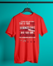 PATRIOTIC - You May Not M 0036 Classic T-Shirt lifestyle-mens-crewneck-front-3